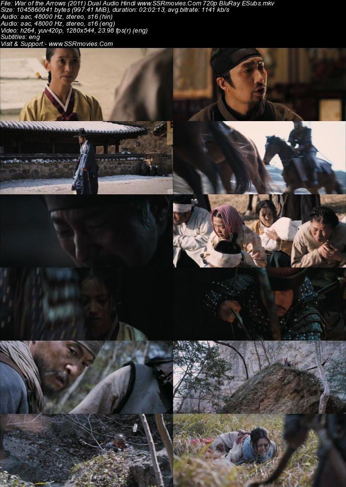 War of the Arrows (2011) Dual Audio Hindi 720p BluRay x264 950MB Full Movie Download