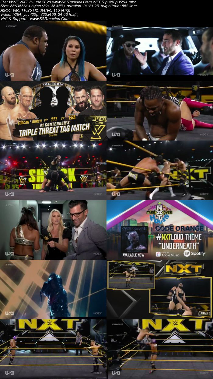 WWE NXT 3 June 2020 HDTV 480p Full Show Download