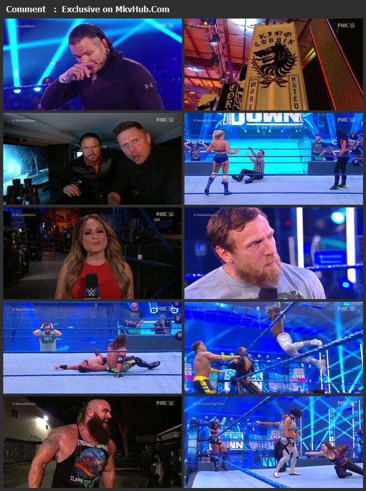 WWE Friday Night SmackDown 05 June 2020 720p HDTV x264 750MB Download