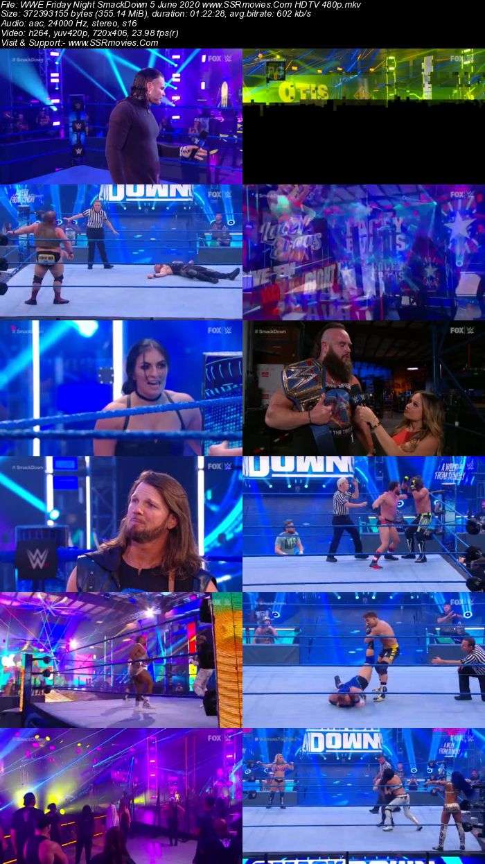 WWE Friday Night SmackDown 5 June 2020 Full Show Download