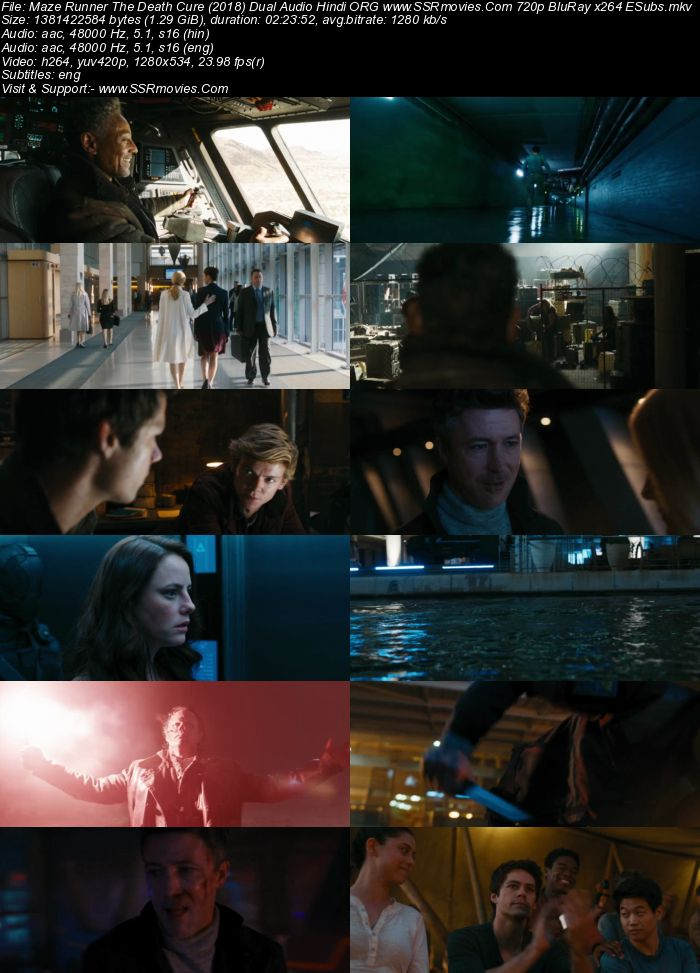 Maze Runner: The Death Cure (2018) Dual Audio Hindi 720p BluRay x264 1.3GB Full Movie Download