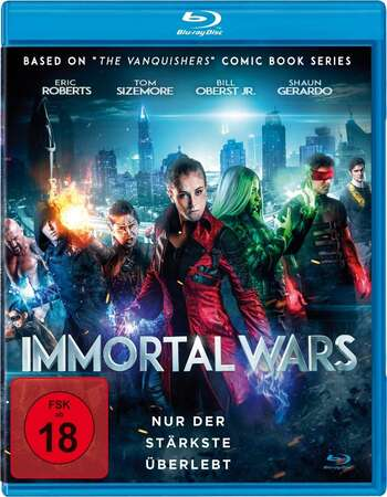 The Immortal Wars (2017) Dual Audio Hindi 480p BluRay 300MB ESubs Full Movie Download