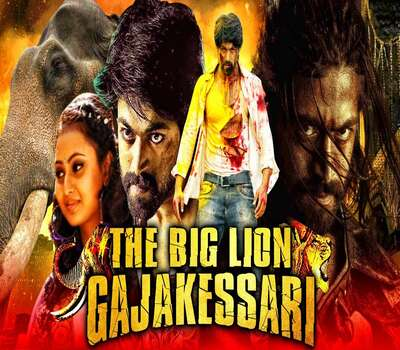 The Big Lion Gajakessari (2020) Hindi Dubbed 720p HDRip x264 1.1GB Full Movie Download