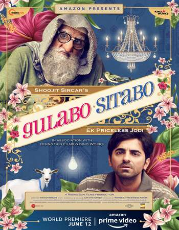 Gulabo Sitabo (2019) Hindi 720p HDRip x264 1GB Full Movie Download