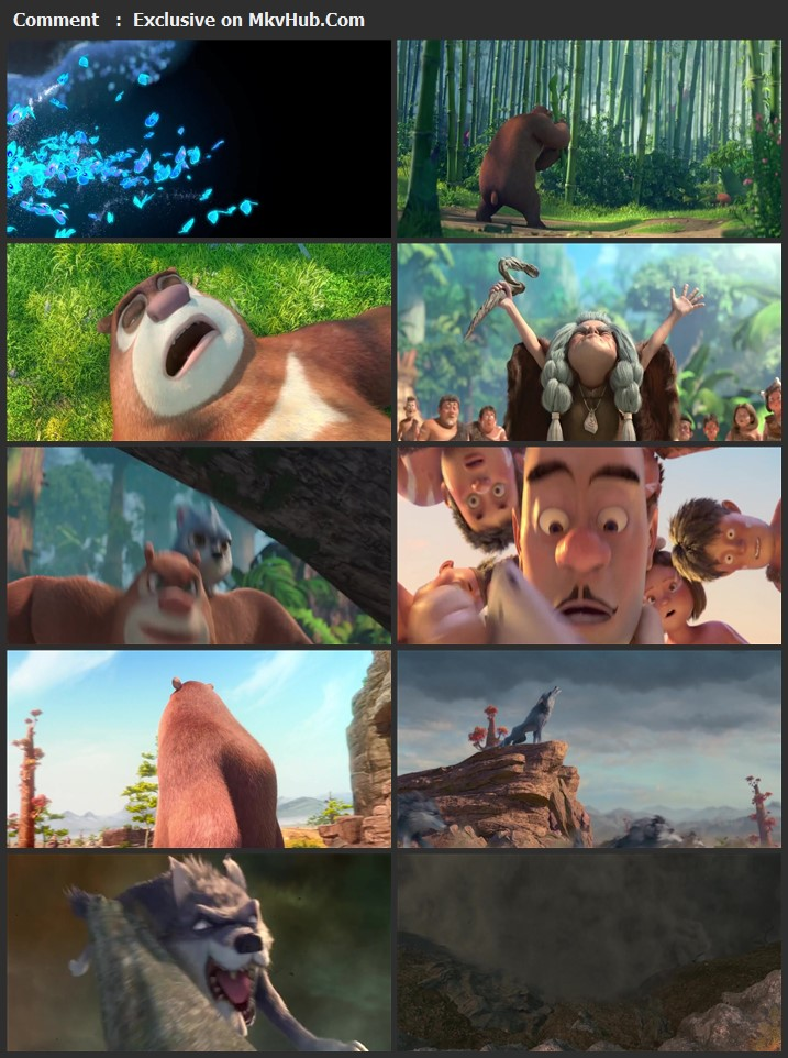 Boonie Bears Blast Into the Past 2020 English 720p WEB-DL 800MB Download
