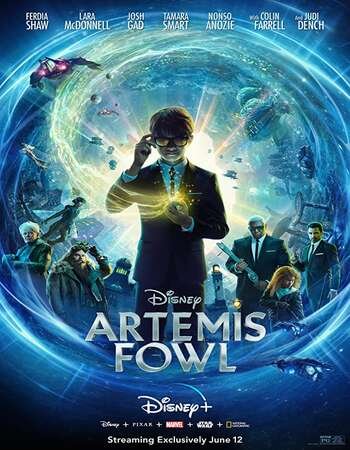 Artemis Fowl 2020 English 720p WEB-DL 800MB Download