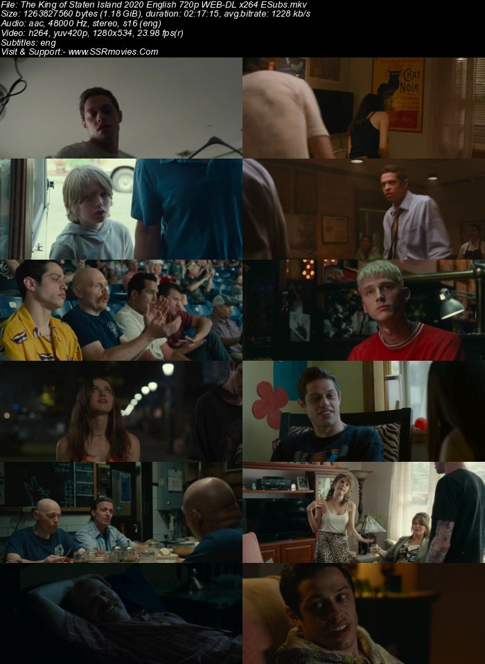 The King of Staten Island (2020) English 720p WEB-DL x264 1.2GB Full Movie Download