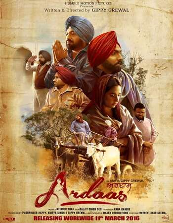 Ardaas (2016) Punjabi 720p WEB-DL x264 1.1GB Full Movie Download