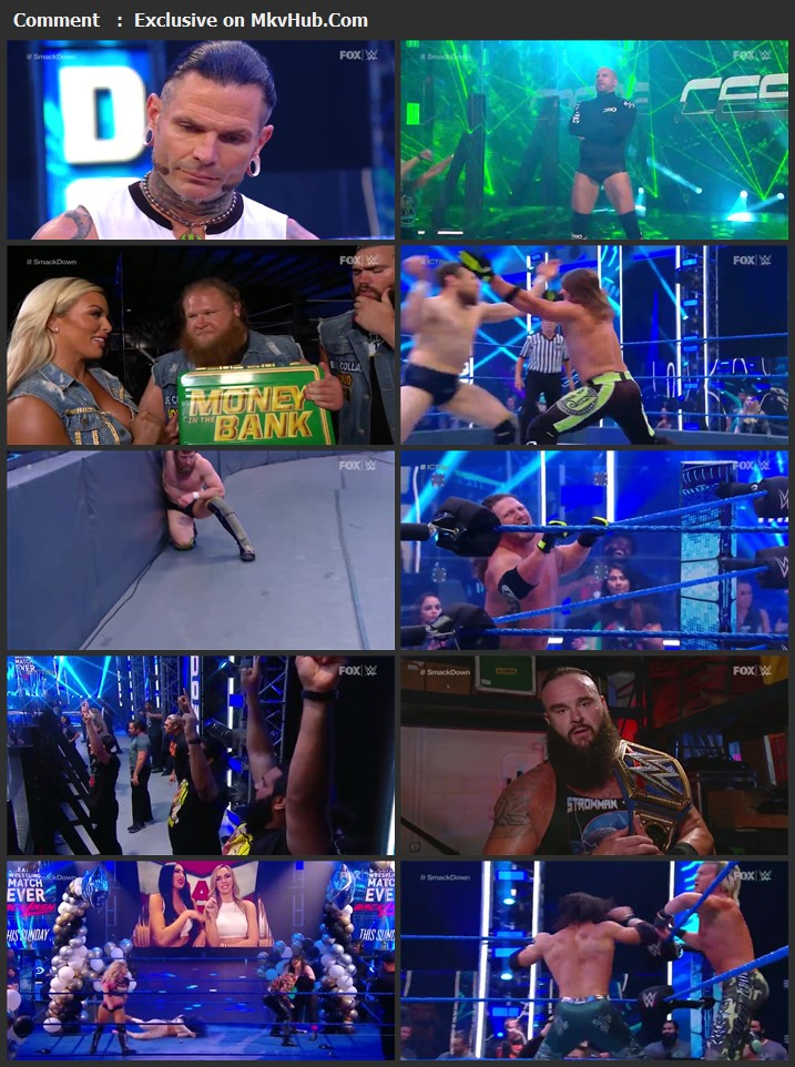 WWE Friday Night SmackDown 12 June 2020 720p HDTV x264 750MB Download