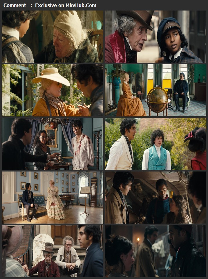The Personal History of David Copperfield 2019 English 1080p BluRay 2GB Download
