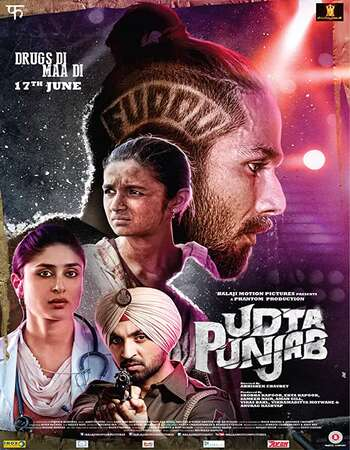 Udta Punjab (2016) Hindi 480p BluRay x264 450MB ESubs Full Movie Download