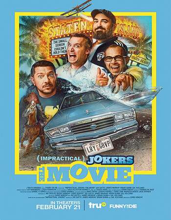 Impractical Jokers: The Movie 2020 English 720p BluRay 800MB Download