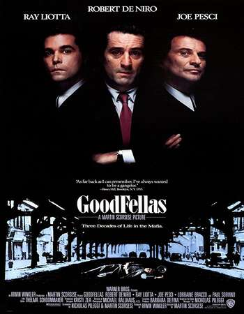 Goodfellas 1990 English 720p BluRay 1.2GB Download