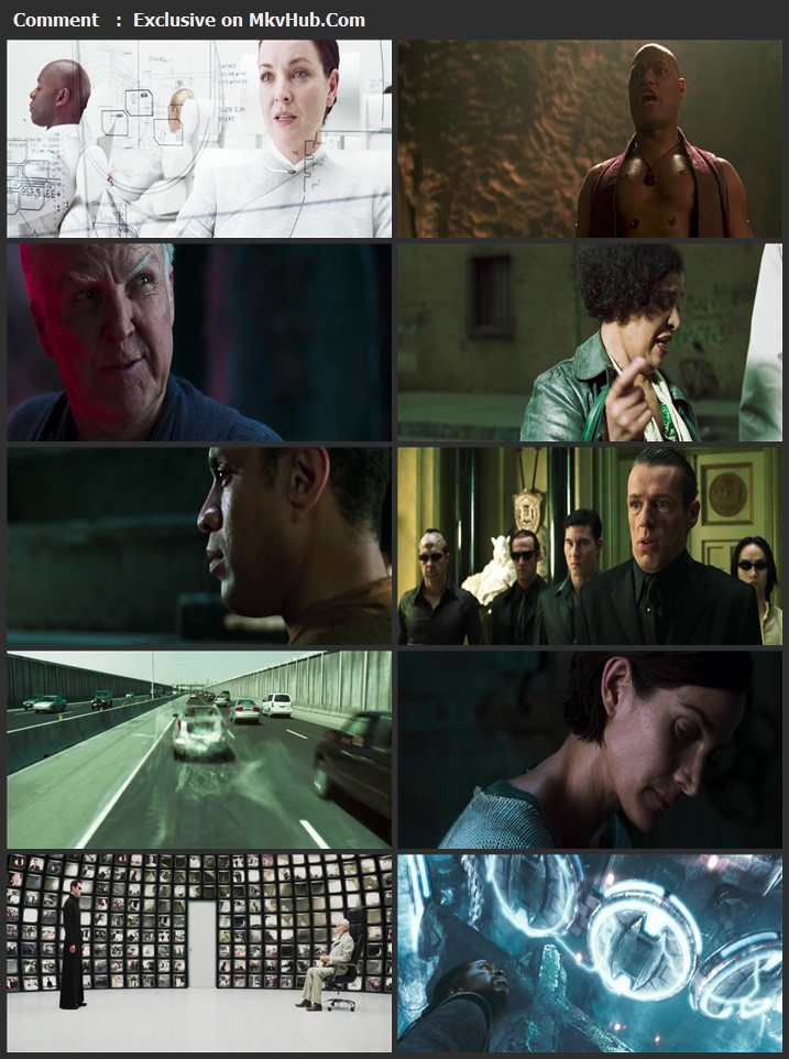 The Matrix Reloaded 2003 English 720p BluRay 1.2GB Download