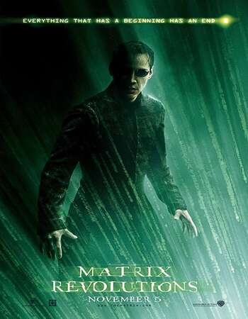 The Matrix Revolutions 2003 English 720p BluRay 1.1GB ESubs