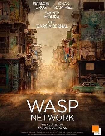 Wasp Network (2019) English 720p WEB-DL x264 1.1GB Full Movie Download