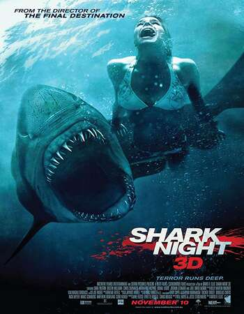 Shark Night 3D 2011 Dual Audio [Hindi-English] 720p BluRay 750MB Download