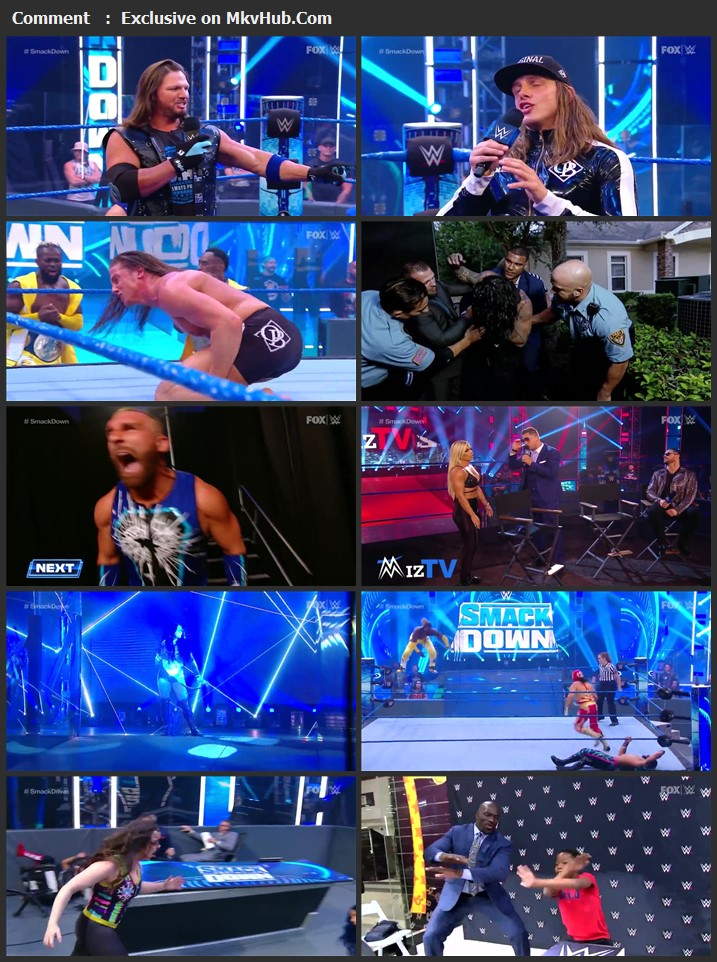 WWE Friday Night SmackDown 19 June 2020 720p HDTV x264 650MB Download