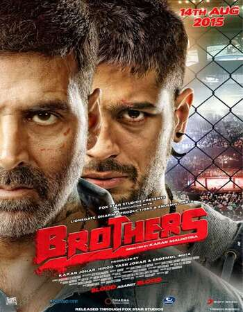 Brothers (2015) Hindi 480p BluRay x264 450MB ESubs Full Movie Download