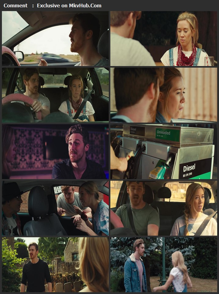 Drive Me to the End 2020 English 720p WEB-DL 700MB Download