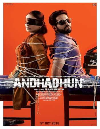Andhadhun (2018) Hindi 480p BluRay x264 400MB ESubs Full Movie Download