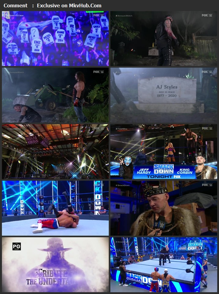 WWE Friday Night SmackDown 26 June 2020 720p HDTV x264 750MB Download