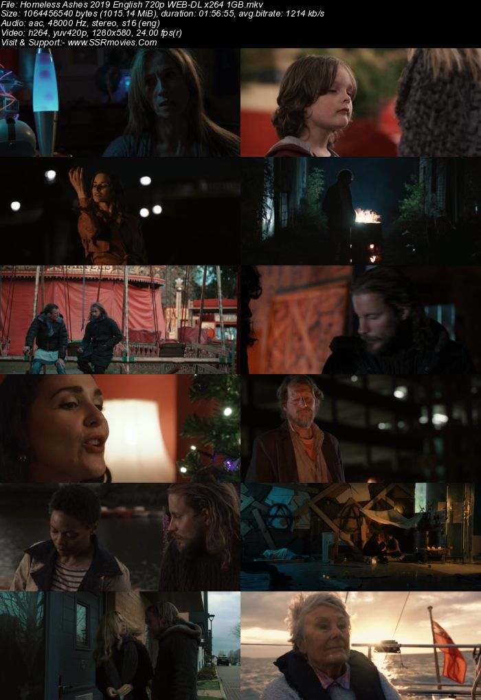 Homeless Ashes (2019) English 480p WEB-DL x264 350MB Full Movie Download