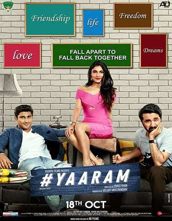 #Yaaram (2019) Hindi 720p WEB-DL x264 1.1GB Full Movie Download