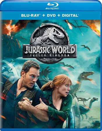 Jurassic World 2 (2018) Dual Audio Hindi 480p BluRay x264 400MB ESubs Full Movie Download