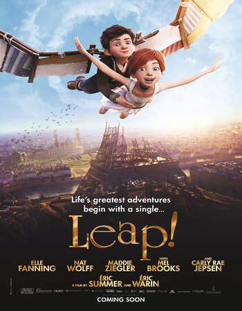 Leap! (2016) Dual Audio Hindi 480p BluRay x264 250MB ESubs Full Movie Download