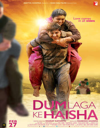 Dum Laga Ke Haisha (2015) Hindi 480p BluRay x264 300MB ESubs Full Movie Download