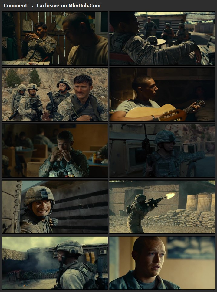 The Outpost 2020 English 720p WEB-DL 900MB Download