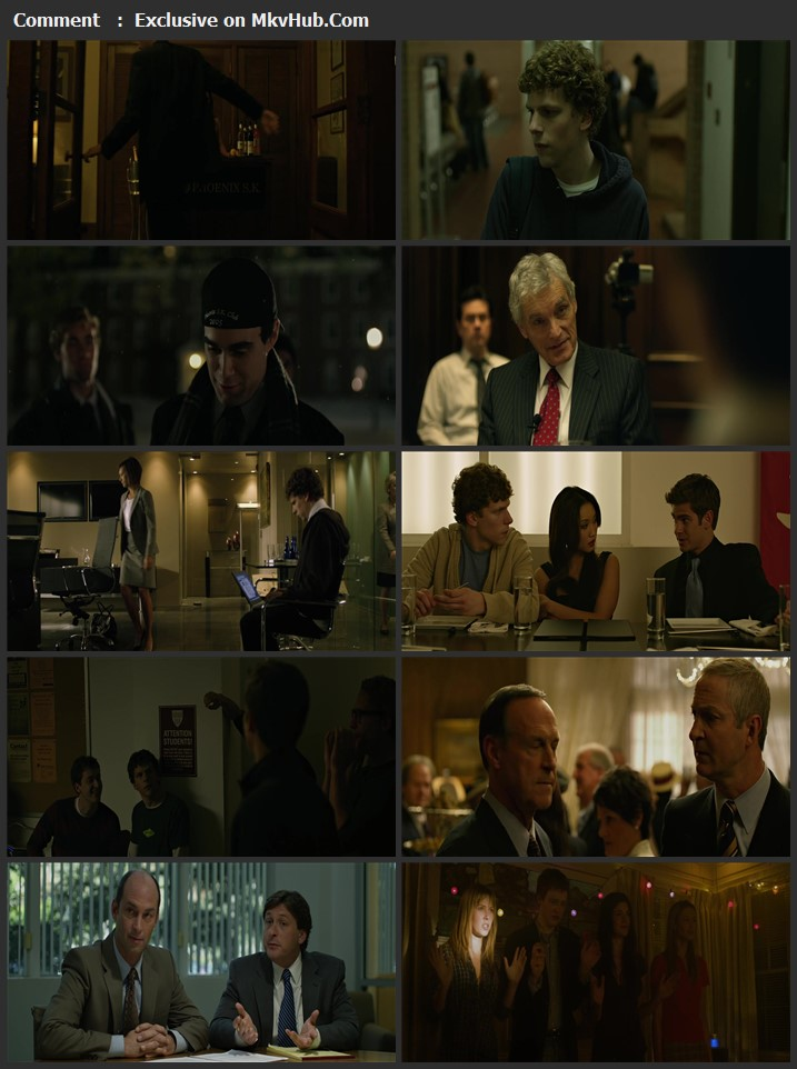 The Social Network 2010 English 720p BluRay 1GB Download