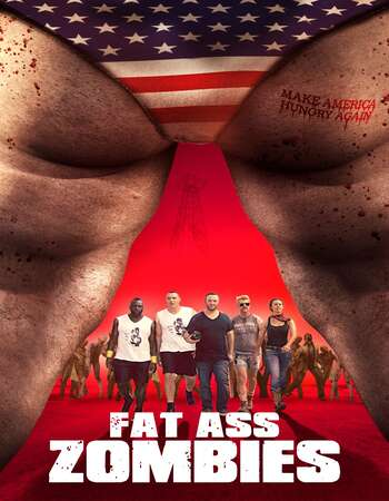 Fat Ass Zombies 2020 English 720p WEB-DL 750MB ESubs