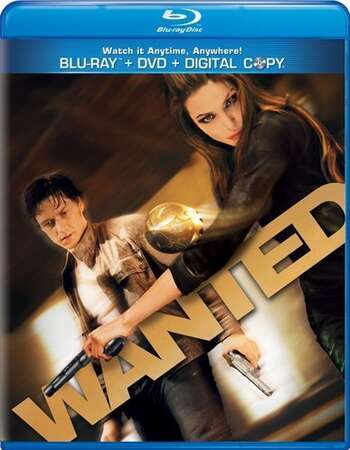 Wanted (2008) Dual Audio Hindi 480p BluRay x264 350MB ESubs Full Movie Download