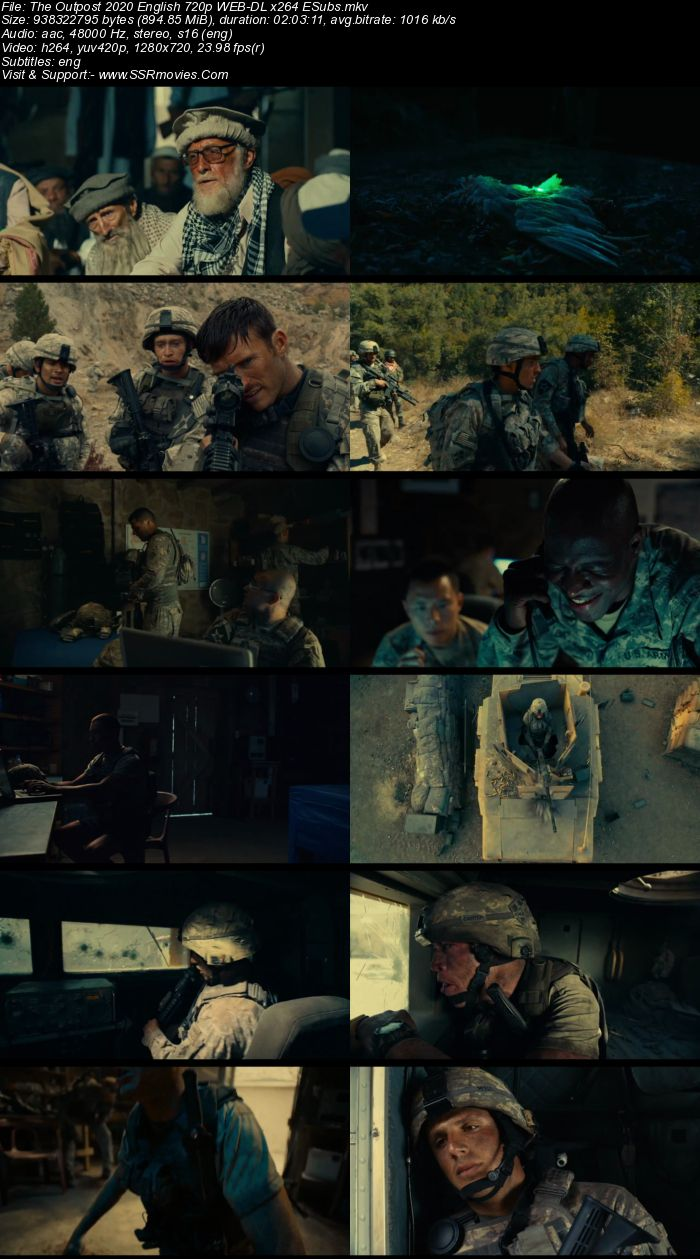 The Outpost (2020) English 480p WEB-DL x264 350MB ESubs Full Movie Download