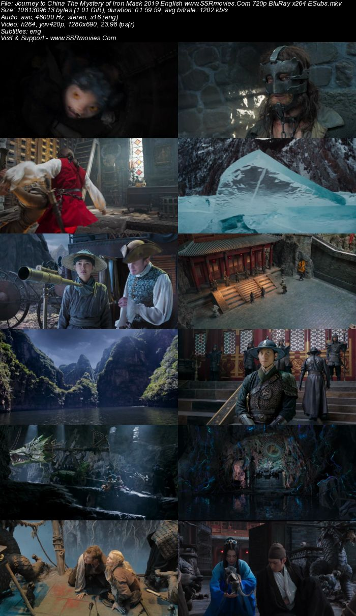 Journey to China: The Mystery of Iron Mask (2019) English 720p BluRay x264 1GB Full Movie Download
