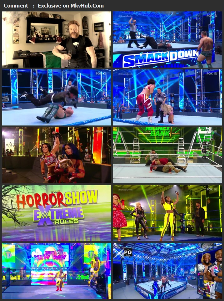 WWE Friday Night SmackDown 10 July 2020 720p HDTV x264 750MB Download