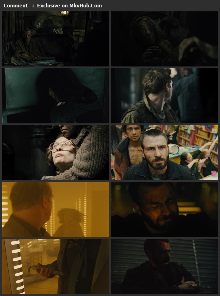 Snowpiercer 2013 Dual Audio [Hindi-English] 720p BluRay 1.1GB Download