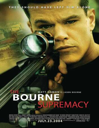 The Bourne Supremacy 2004 Dual Audio [Hindi-English] 720p BluRay 850MB ESubs