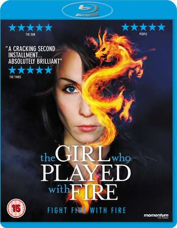 The Girl Who Played with Fire (2009) Dual Audio Hindi 720p BluRay x264 800MB Full Movie Download