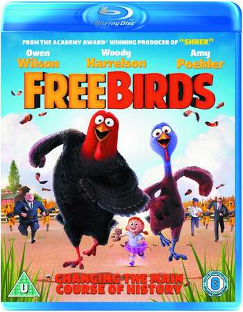 Free Birds (2013) Dual Audio Hindi 720p BluRay x264 950MB Full Movie Download