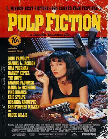 Pulp Fiction 1994 English 720p BluRay 1GB