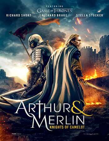 Arthur & Merlin: Knights of Camelot (2020) English 720p WEB-DL 750MB Full Movie Download