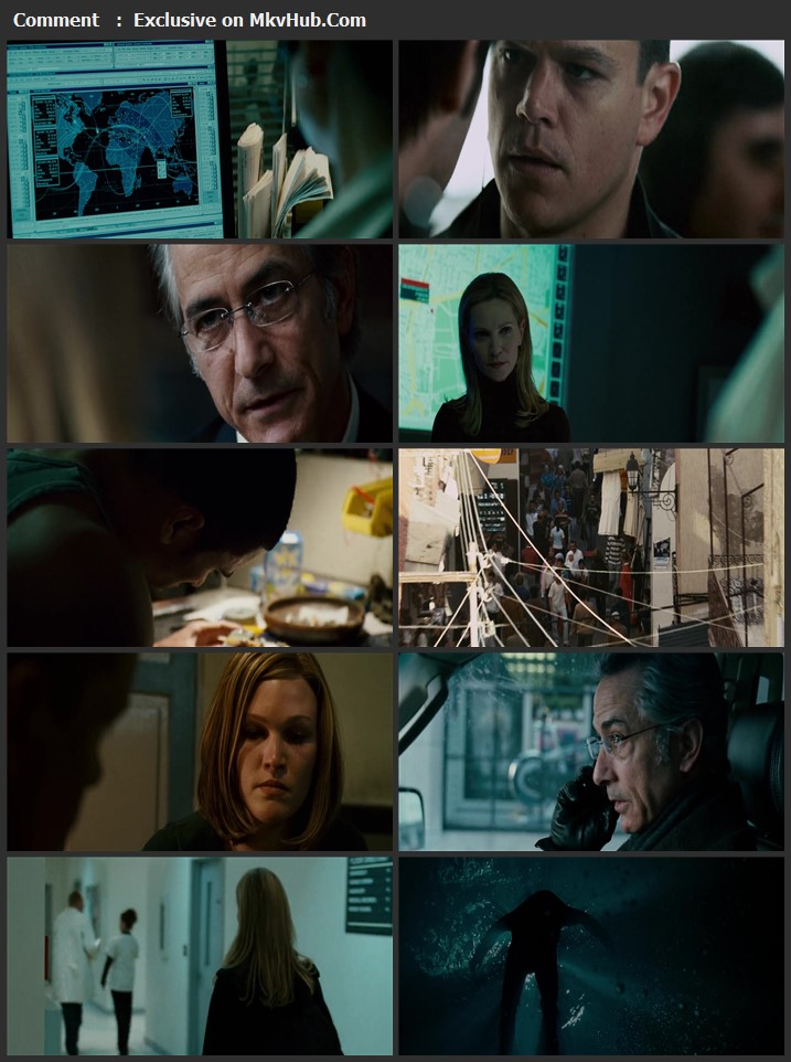 The Bourne Ultimatum 2007 Dual Audio [Hindi-English] 720p BluRay 850MB Download