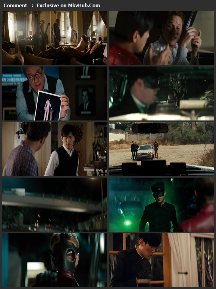 The Green Hornet 2011 Dual Audio [Hindi-English] 720p BluRay 800MB Download