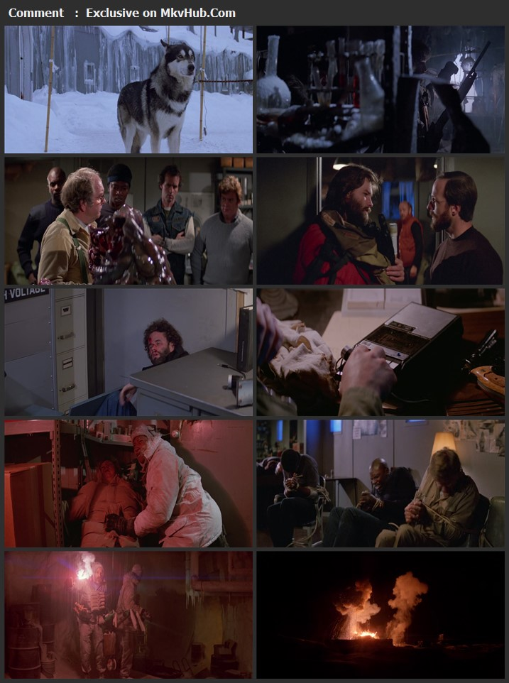 The Thing 1982 English 720p BluRay 1GB Download