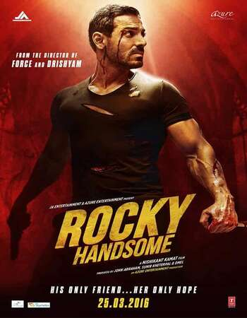 Rocky Handsome (2016) Hindi 480p WEB-DL x264 350MB ESubs Full Movie Download