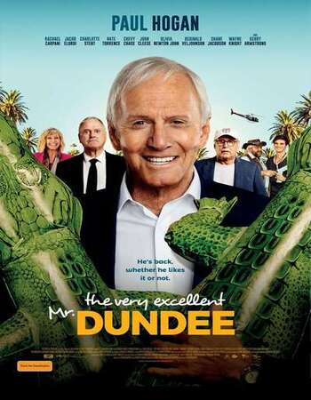 The Very Excellent Mr. Dundee 2020 English 720p WEB-DL 800MB Download