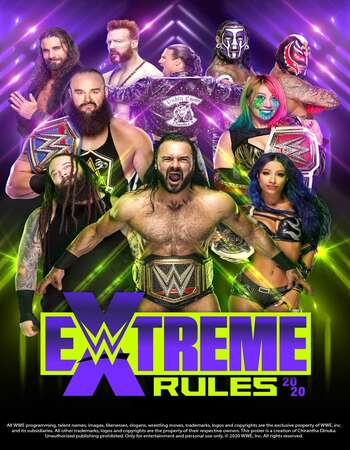 WWE Extreme Rules 2020 720p PPV WEBRip x264 1.3GB Download